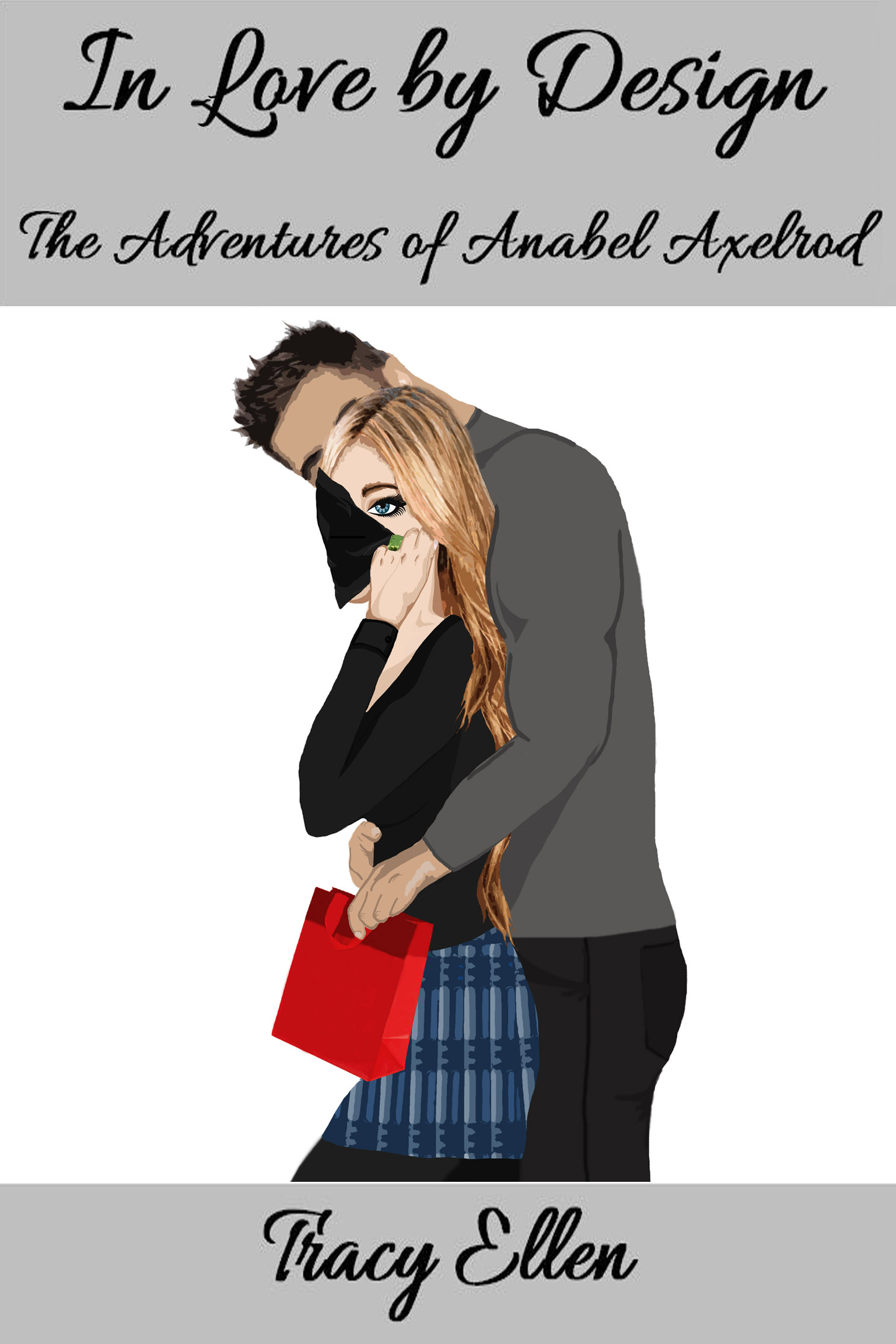 Art Book Front Cover : In love by design the adventures of anabel axelrod