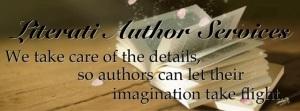 Literati Author Services Banner